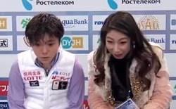 宇野昌磨のコーチの表情が話題!樋口美穂子のファッションがオシャレ!