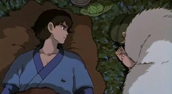 【もののけ姫】アシタカとサンの洞窟シーンは事後?真相を追求!